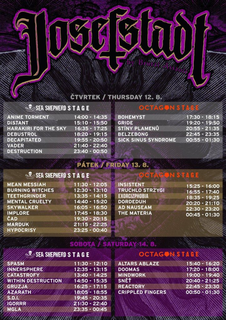 schedule josefstadt